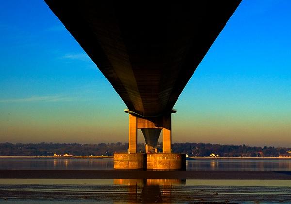 Below the Bridge by DerekLG