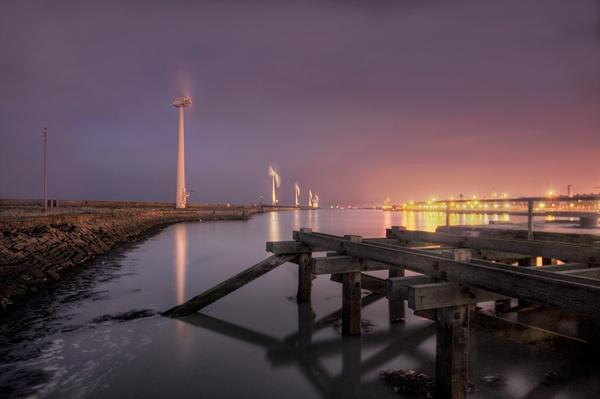 North Blyth at Night by Dave_Henderson