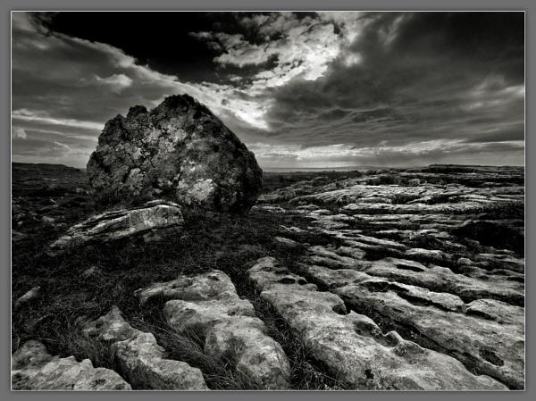 Burren Boulder by Ganto