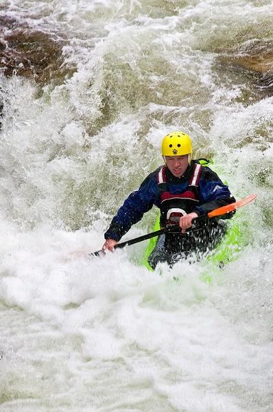 Kayaker by carrot_heid