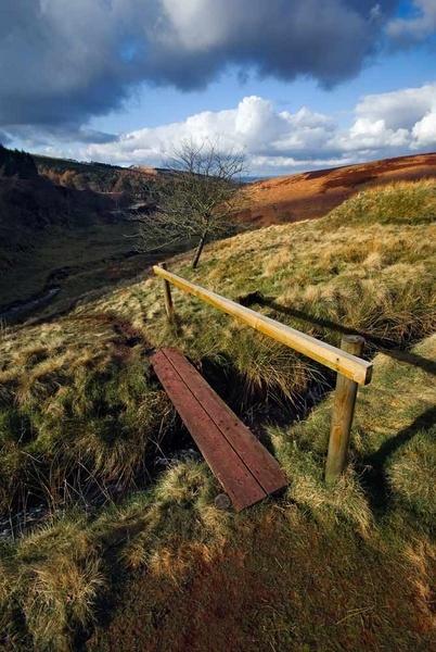 goyt valley foot bridge by antbow