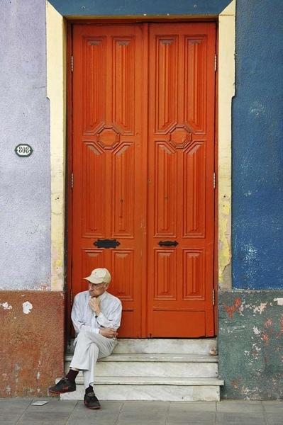 The Orange Door by sarmour