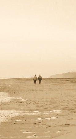 A walk on the beach by Ian White