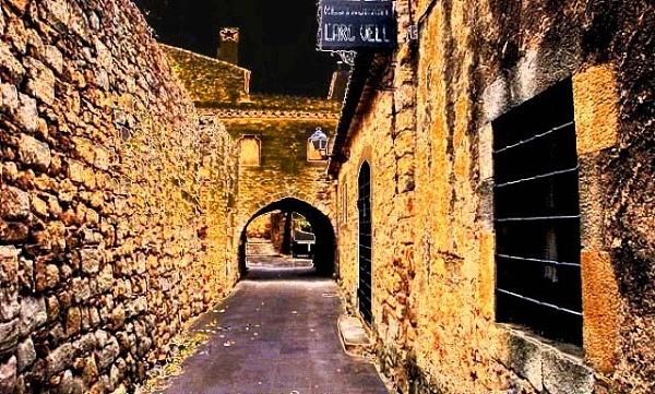 Golden Walkway by RonnieT