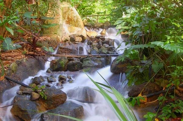 Eden project waterfall by greatdog