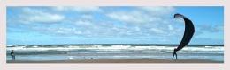 Kite Surfer on Benllech Beach