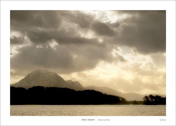 Slioch, Loch Maree by paulmackiemaging