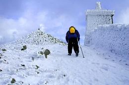 Climbing Slieve Donard