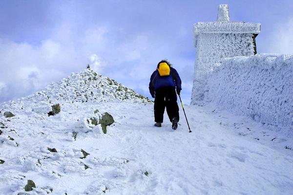 Climbing Slieve Donard by steviemillgate