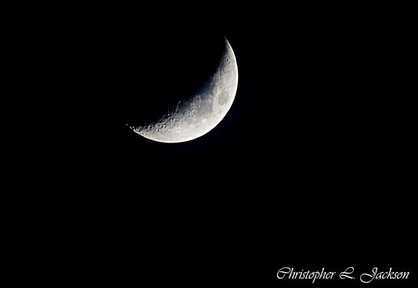 Moon shot April 10 2008 by Papa6