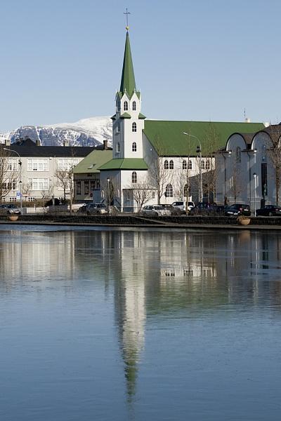 Church Reykavik by Stevenjohn1