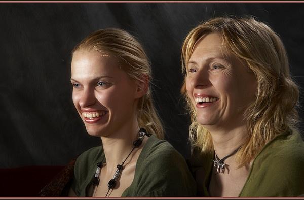 Mum & Daughter by davidbailie