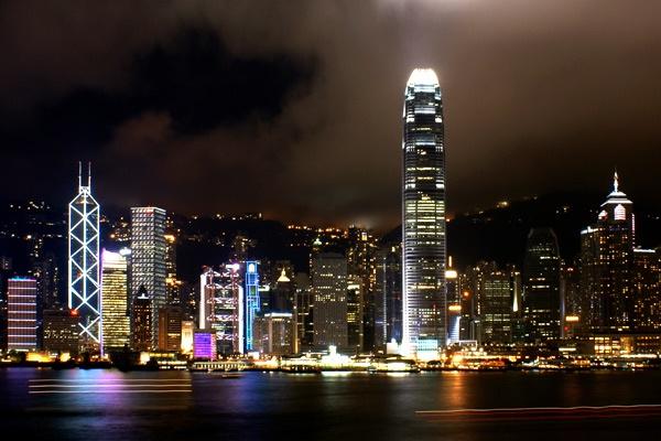 Hong Kong @ night by icafe