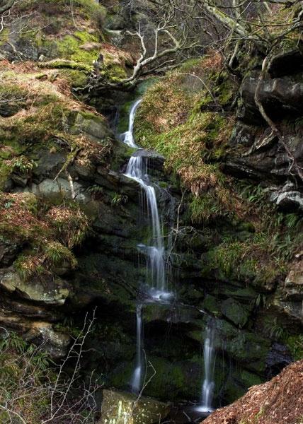 Northumberland waterfall by greensurfingbear