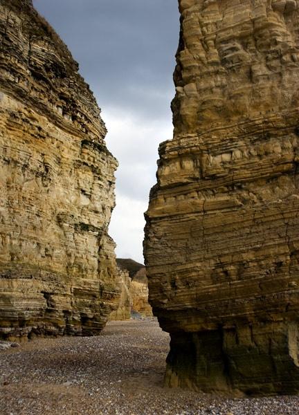 Marsden cliffs by greensurfingbear