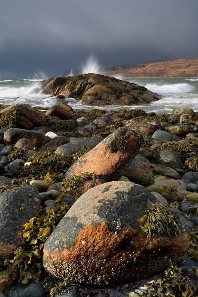 Storm on the Secret beach by carterart