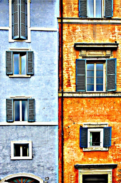 Roman Windows by claret