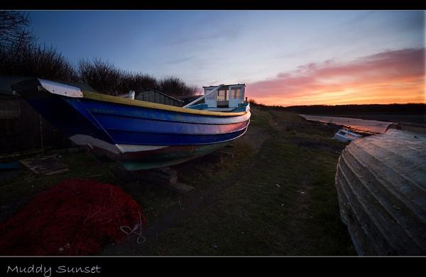 Muddy Sunset by Dave_Henderson