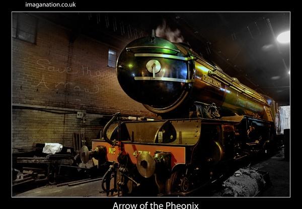Arrow of a Pheonix by Graysta