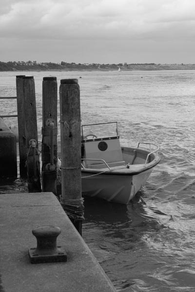 Moored Boat by yasika