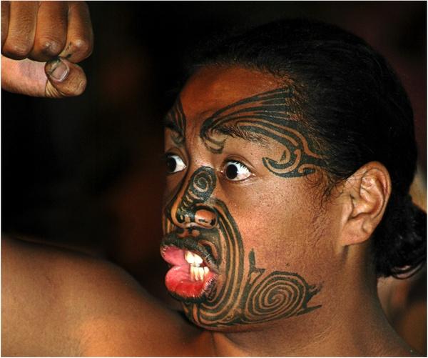 Maori Haka by Ffotolady