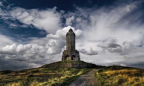 Darwen Tower by whiteboxer