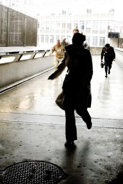 Running from the Rain by DenisePhoto