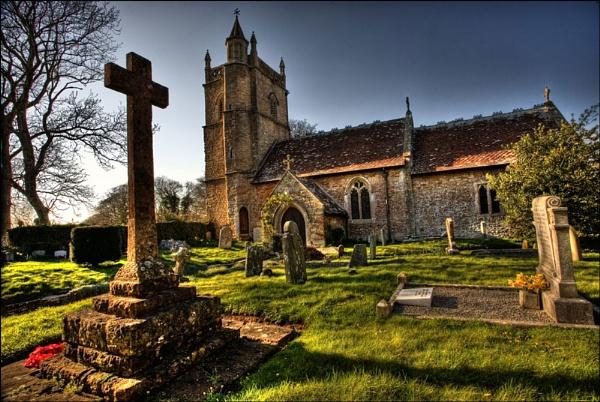 Country Churchyard by sospan
