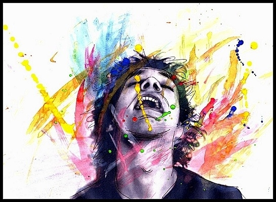 Brother in watercolour by edwardking