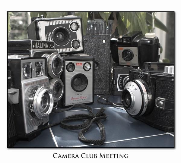 Camera Club Meeting by cirrusminor