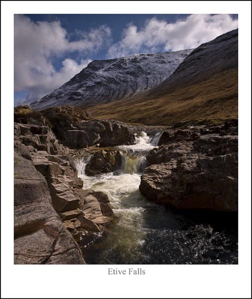 Etive Falls... by Scottishlandscapes