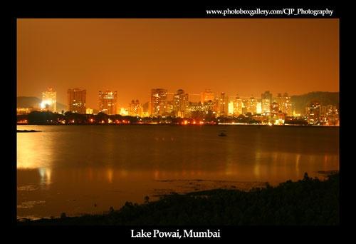 Lake Powai Mumbai by Cristian