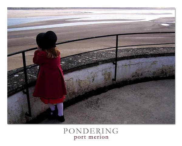 Pondering - Port Merion by GingerBadger