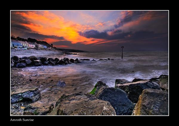 Amroth Sunrise by John_Frid