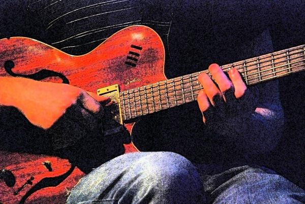 Borealis Trio Guitarist by Andrew_Hurley