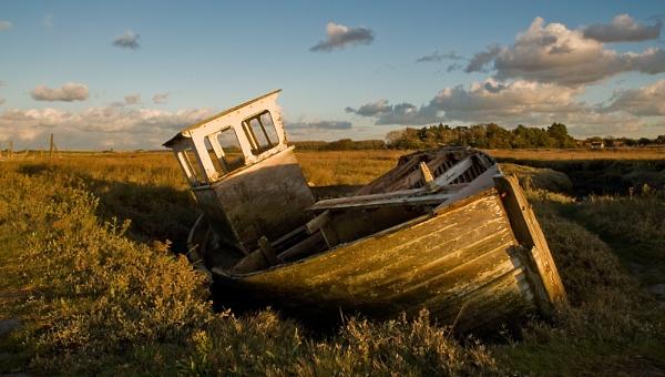 Thornham Boat by baldsparky