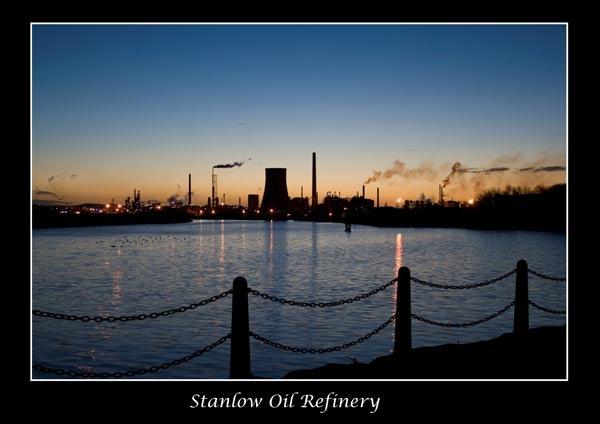 Stanlow oil refinery by StephenDM