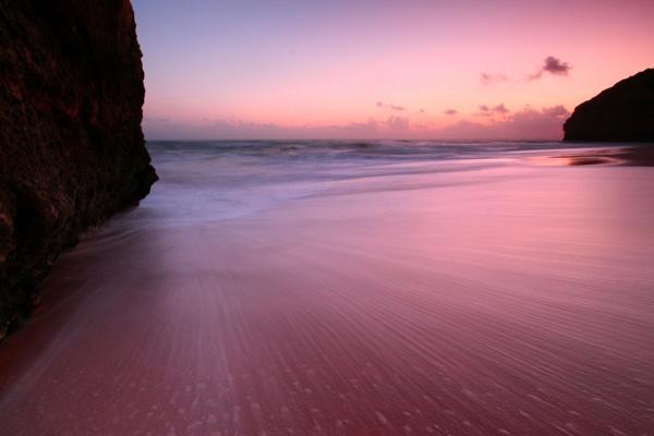 Night beach by nickfrog