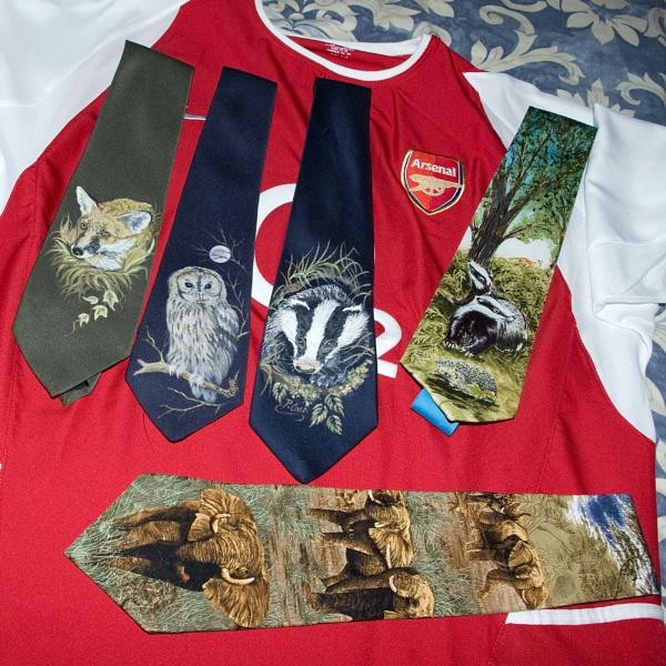Still Life-Shirt + Ties. by Badgerfred