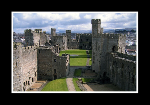 Caernarfon Castle by Andys0707