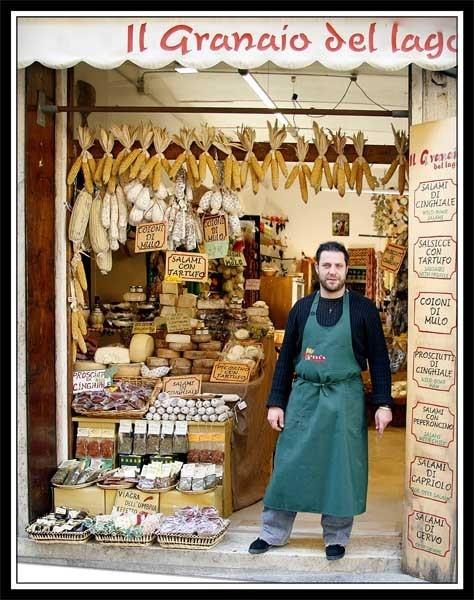 Italian Shop Owner by r0nn1e