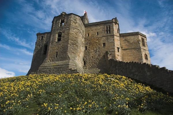 Warkworth Castle by petet410