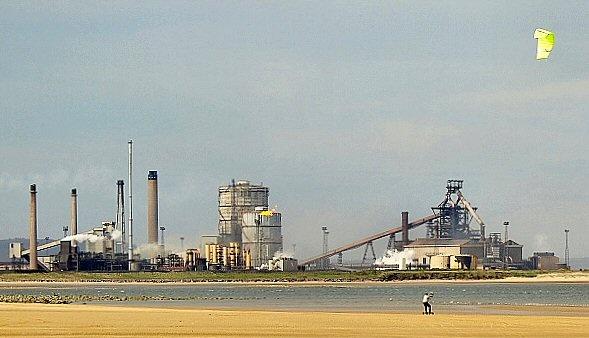 Steelworks kiting by terra