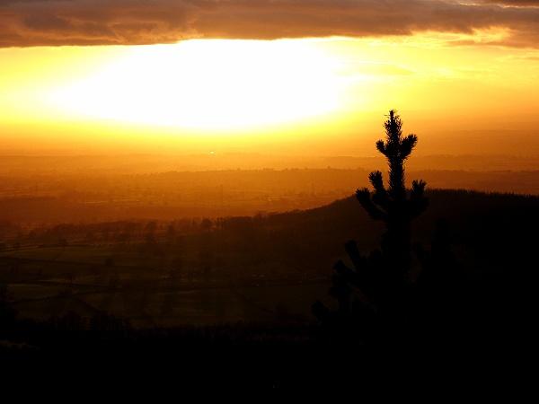 North York Moors sunset#2 by terra