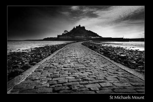 St Michaels Mount by nigelsharman