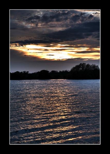 Abberton Sunset by davidturner