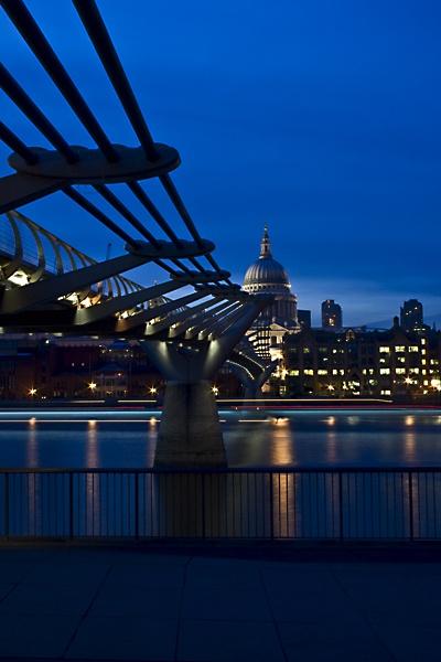 Millennium to St. Pauls under by TonyKerrey