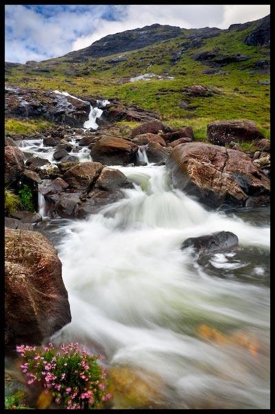 Waterfall, Loch Coruisk, Isle of Skye by SteveH63