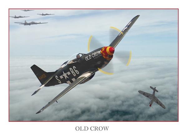 OLD CROW by kenbishop