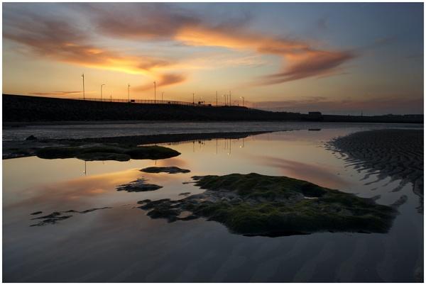 Seaton Sunset by ashley
